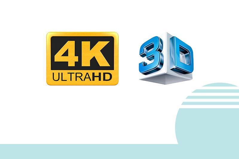4K Ultra HD 3D