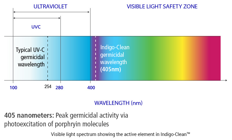 Indigo Clean - Visible Light Safety Zone